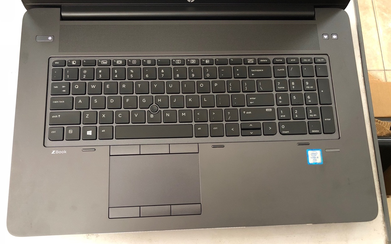 laptop hp zbook 17g3